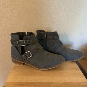 Women's Rocket Dog Gray Ankle Boots